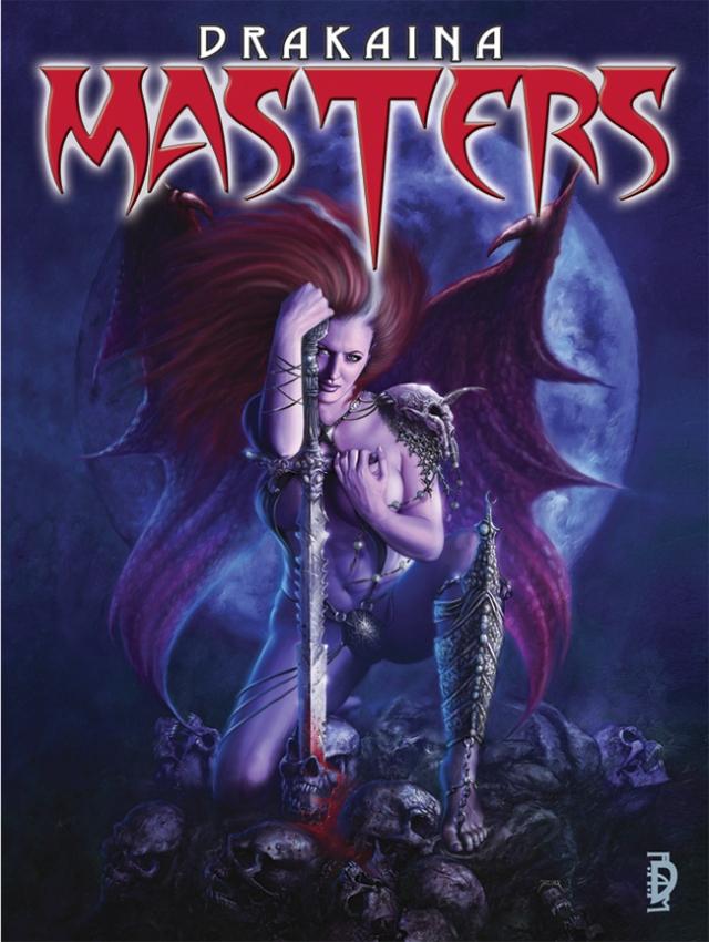 2010 : Artbook collectif Drakaina : Masters (SQP publishing, USA) EN