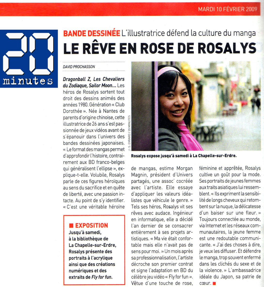 20 minutes : Journal (FR) 2009