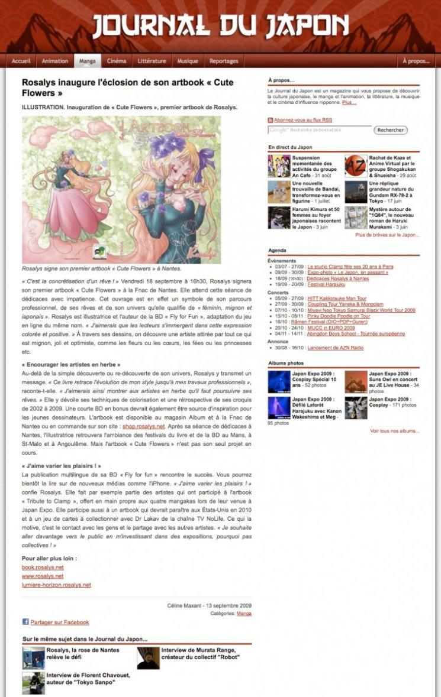 Journal du Japon : Magazine de culture japonaise (FR) 2009