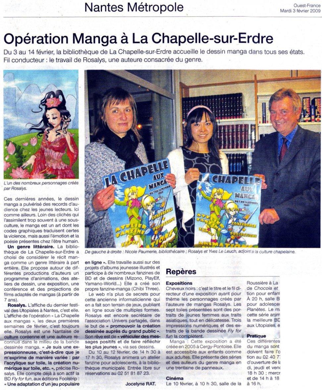 Ouest France : Journal (FR) 2009