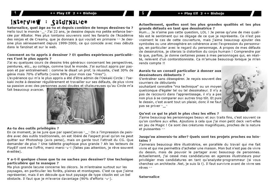 PlayElf : Fanzine d'illustrations (FR) 2004