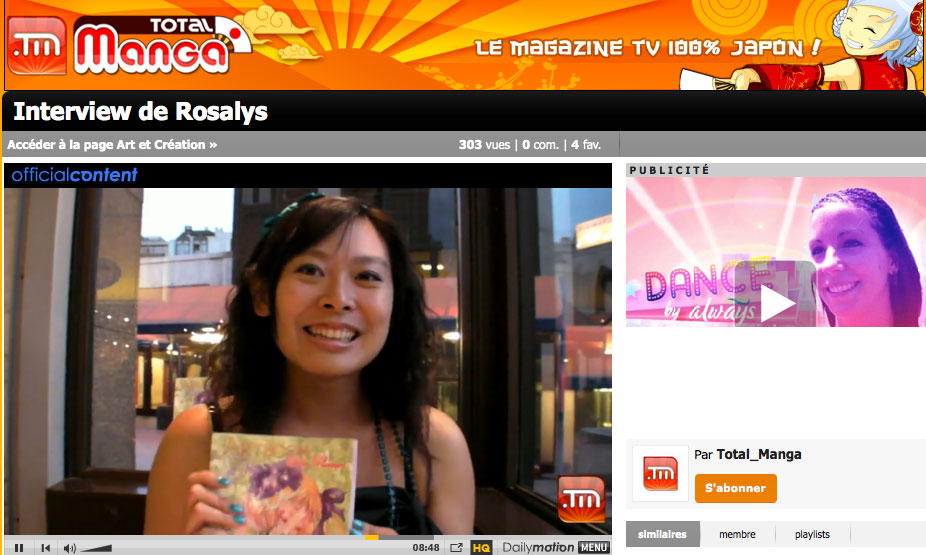 Total-manga : Magazine TV de culture japonaise (FR) 2009