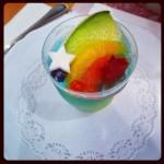 七夕ゼリーです!二つの星のようにかわいいデザート☆☆  Tanabata jelly! So cute dessert with the two stars
