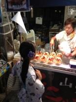 Asagaya Tanabata matsuri 2012 - Yukata & Takoyaki
