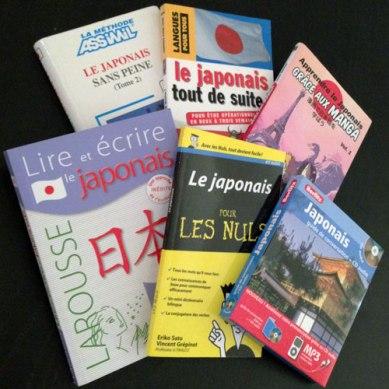 [FR] Manuels que l'on trouve en librairie française au rayon langue et que... je n'utilise pas du tout ^^; Il faut trouver la méthode qui convient bien à chacun pour que ça marche !