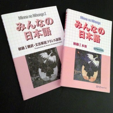 """[JP/FR] """"Minna no nihongo"""" balaie les mêmes thèmes essentiels avec bien plus d'exemples et d'explications. Je trouve que ce manuel est le meilleur pour apprendre le japonais depuis le français"""