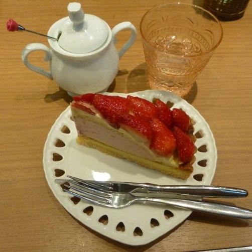 Sublime Ichigo tart ! On dirait la tarte aux fraises de Yumeiro patissiere !!