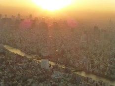 La Sumida gawa depuis Tôkyô Skytree