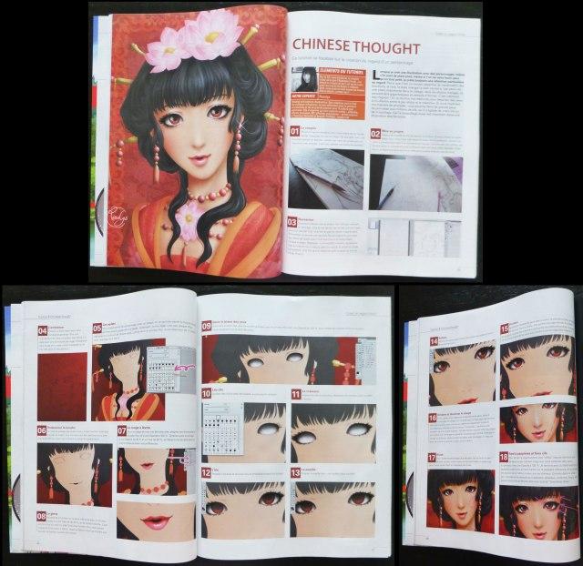 2012 : Tutorial pour le magazine d'art Digital artist