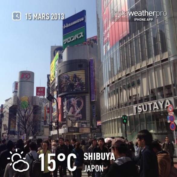Quel beau temps ! いい天気ですね☀