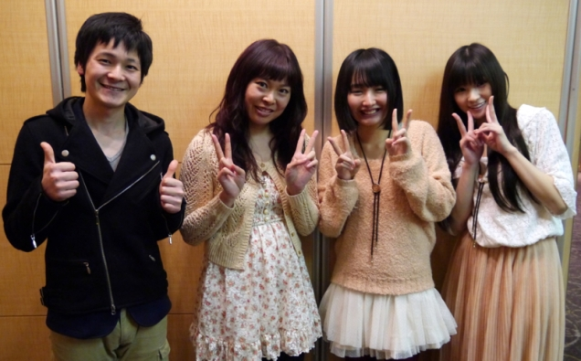 Rikako Yamaguchi, Yui Watanabe, Shunsuke Sakai and me