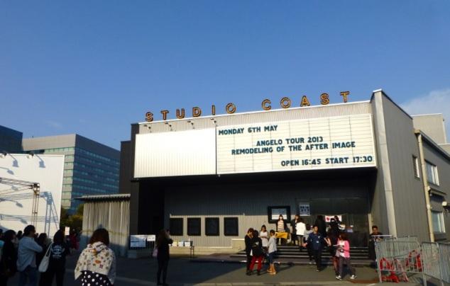 STUDIO COAST spécial Angelo Tour 2013