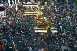 Mikoshi parade at Akihabara