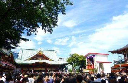 Inside Kanda myôji