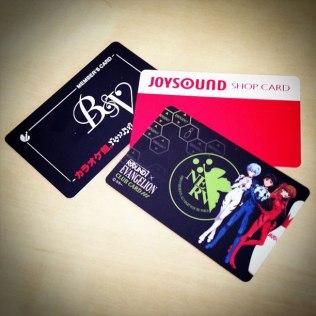 Mes précieuses Member's card de karaoke de Tôkyô ^o^
