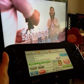 Authentic Japanese karaoke at home♡ 日本のカラオケ!チョーいいね♪( ´▽`) #wiiU #karaoke #joysound #jpop #sekainoowari