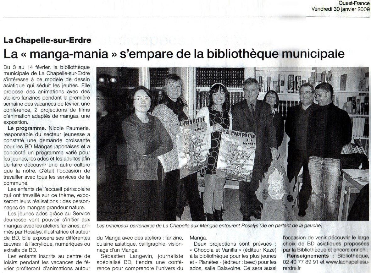 Ouest-France : Journal (FR) 2009