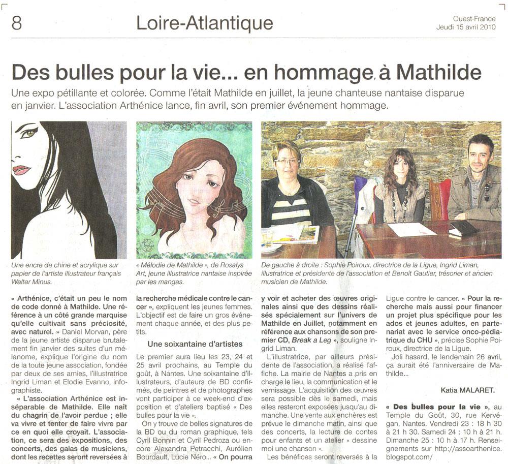 Ouest-France : Journal (FR) 2010