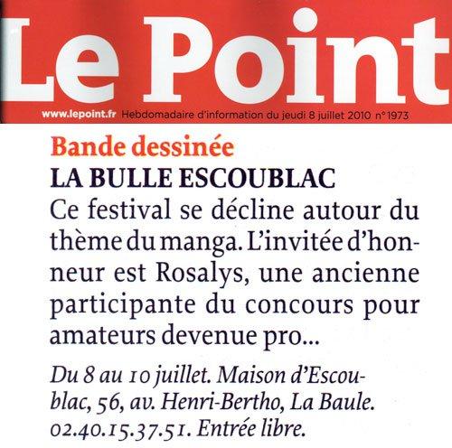 Le Point : Magazine (FR) 2010