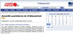 Ouest-France: Newspaper, web version (FR) 2010