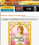 Manga Sanctuary: Web magazine (FR) 2011