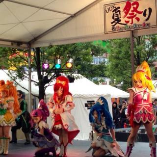 Cure Ace !! au spectacle Dokidoki PreCure au UDX natsu matsuri #precure #cureace #liveshow #tokyo #東京 #japon #japan #日本
