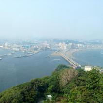 Vue du haut du Enoshima Sea Candle — at 江の島シーキャンドル(江の島展望灯台).