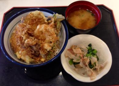 Yasai tenpura ♪ — at てんや原宿店.