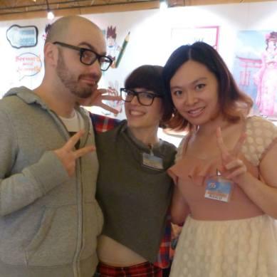 With Matteo Foresti and Federica Di Nardo