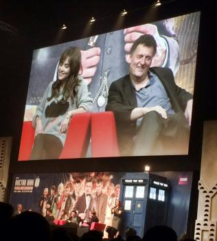 Live comments by the staff about the #DayoftheDoctor just the day after *o* #DoctorWho50th #DWCelebration #EleventhHour