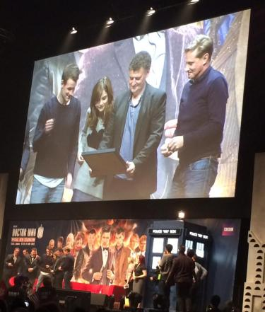 #DoctorWho50th #DWCelebration #DayoftheDoctor #EleventhHour Guinness World Record, award for the largest TV drama simulcast of all time, congratulations!!