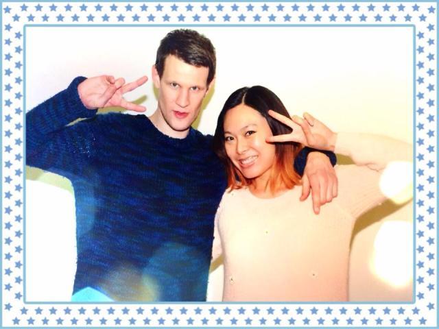 Matt Smith & me (^_−)−☆