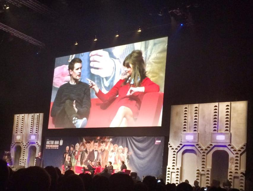 #DoctorWho50th #DWCelebration Theatre show: The eleventh hour. This panel was so fun!!