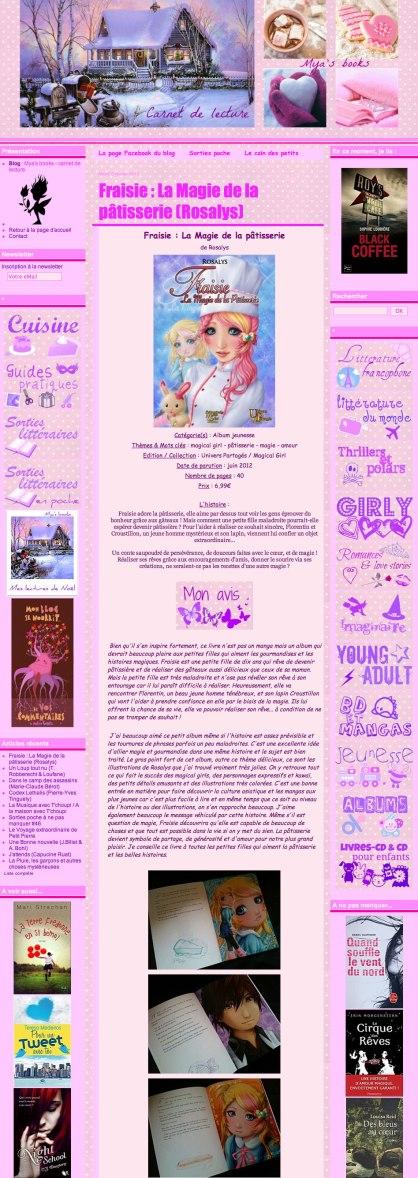 Mya's books : Blog littéraire (FR) 2013