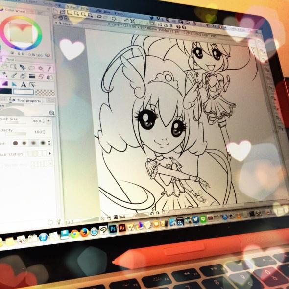 新しいプロジェクト:東京のこの夏のコミケのための同人誌! New project of dôjinshi for the Comiket of this summer in Tôkyô!