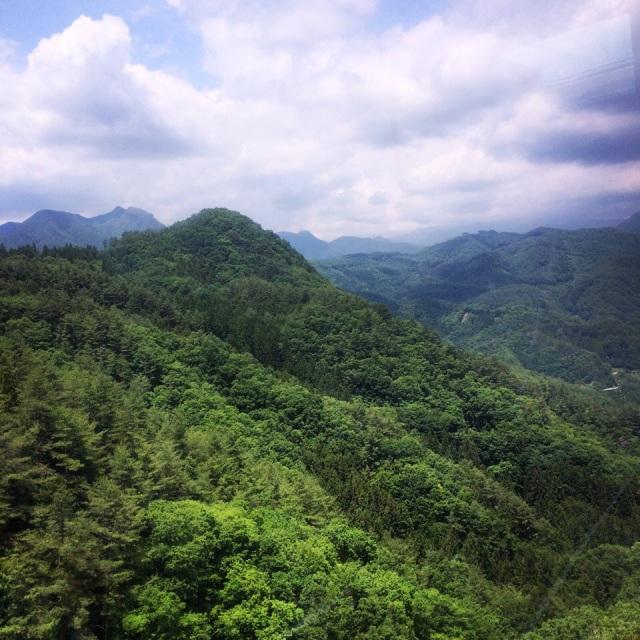 素晴らしい自然があふれています!Just amazing nature! - at 昇仙峡パノラマ台駅