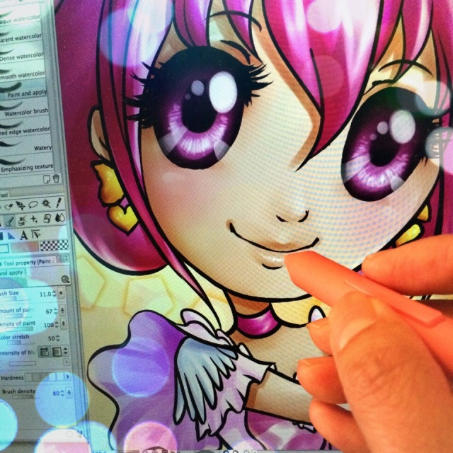FR EN 日本語 Quel plaisir de dessiner de la mignonnerie pleine d'optimisme ♡ Enjoying painting optimism and cuteness♡ かわいくて楽観的な絵を書くのを楽しんでいます♡