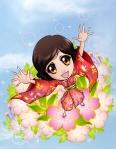Happy blossom