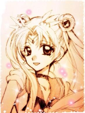 落書きセーラームーン Sailor Moon
