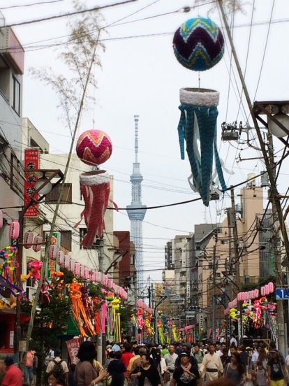 Shitamachi Tanabata Matsuri & Tokyo Skytree