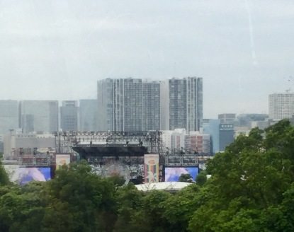 From the Yurikamome line