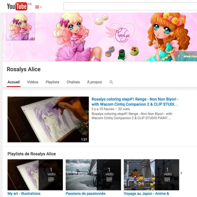rosalys-youtube-channel