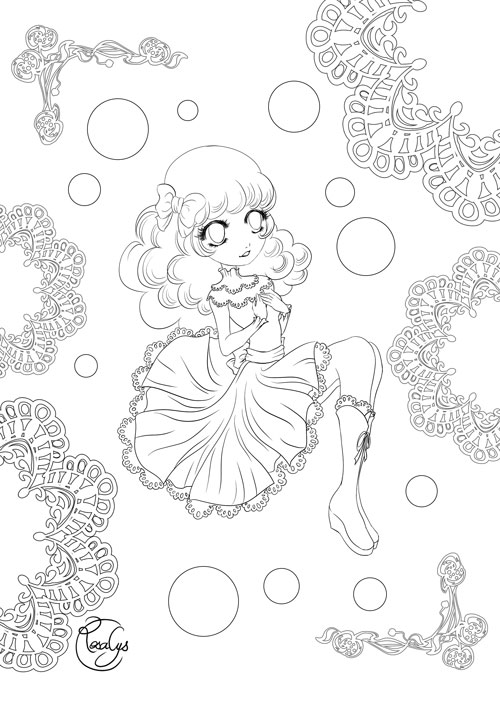 Volume desserts Coloriage