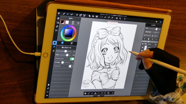 speedpainting-serena-pokemon-xy&z-iPad-Pro-Apple-Pencil-Medibang-Paint