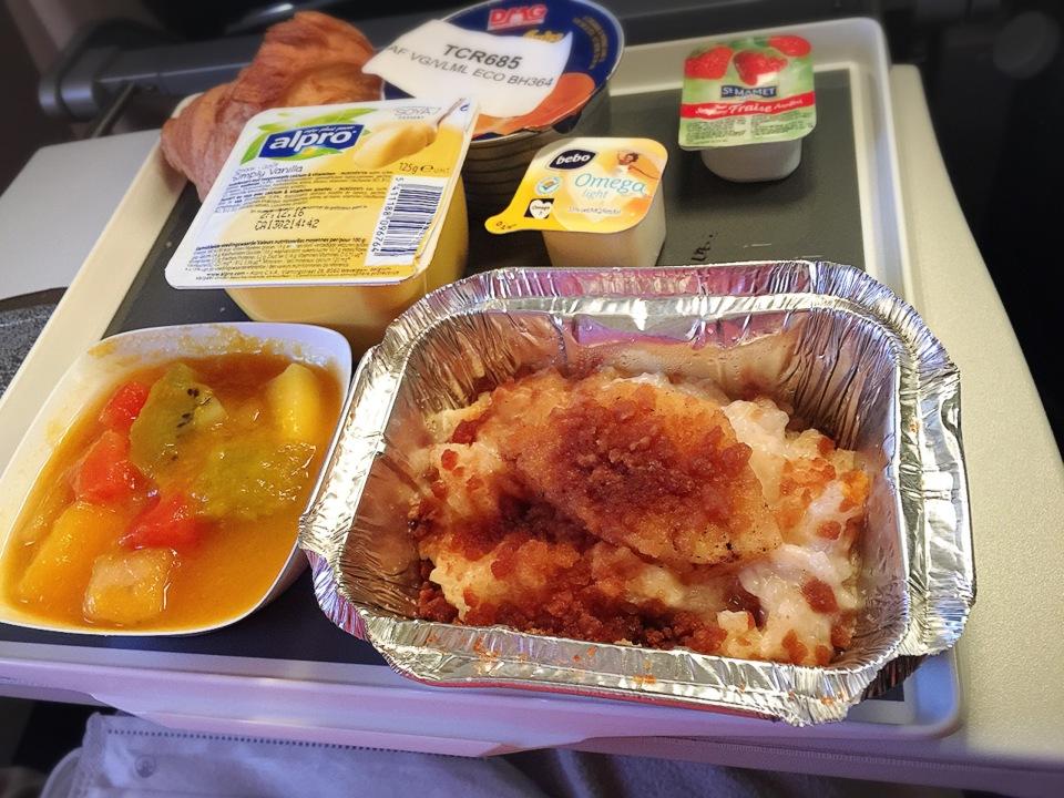 menu-vegetalien-air-france-petit-dejeuner