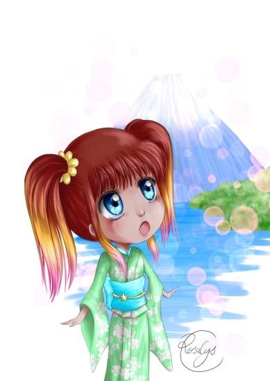 07-hana hakone mont fuji-ipadpro