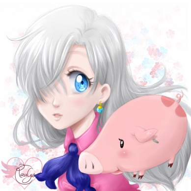 Elizabeth & Hawk [The seven deadly sins]