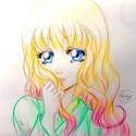 Hana aux cheveux