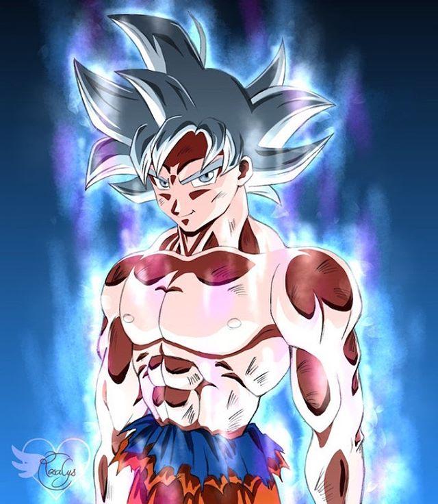 Son Goku Ultra Instinct Dragonball Super Dessin Papier Crayon
